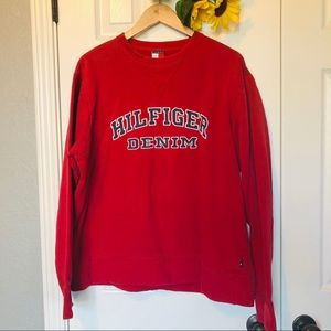 Vintage Tommy Hilfiger Spell Out Sweatshirt